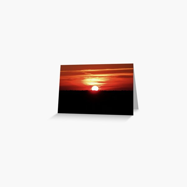 Sunset Long Island 3 Greeting Card