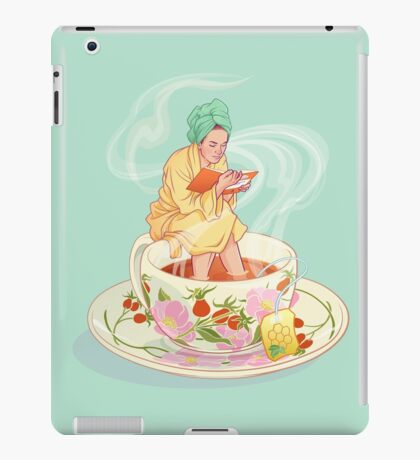 Cure for the common cold iPad Case/Skin