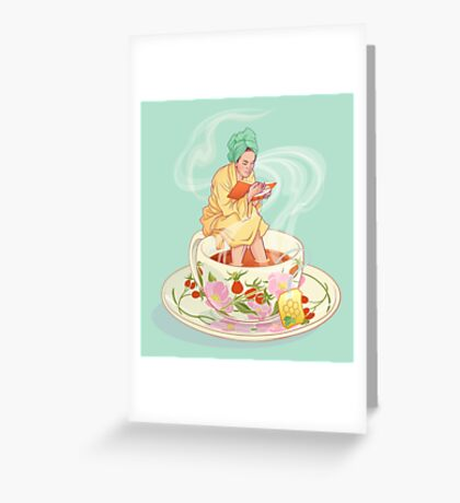 Cure for the common cold Greeting Card