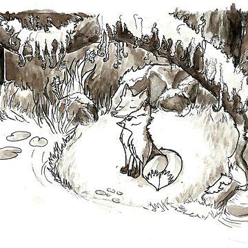Fox Valentine by Steampoweredfox