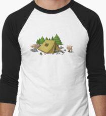 no camping Men's Baseball ¾ T-Shirt