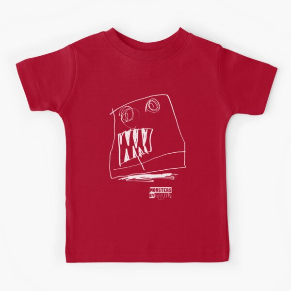 Monsters By Gusten #2 WHITE Kids T-Shirt