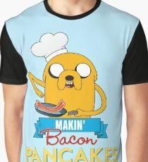 Bacon Pancakes Graphic T-Shirt