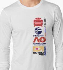 Wipeout Logos Langarmshirt