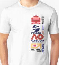 Wipeout Logos Unisex T-Shirt