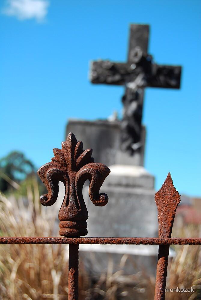 Rusty Cross by monkozak