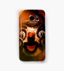 Scary side show puppet Samsung Galaxy Case/Skin