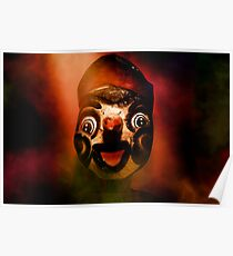 Scary side show puppet Poster