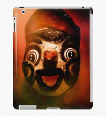 Scary side show puppet iPad Case/Skin