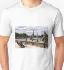 Relaxing in Tuileries Garden - Paris France Unisex T-Shirt