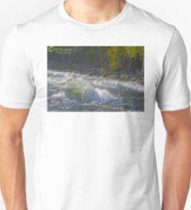 Salmon rivers in Norway . Neselva. Andrzej Goszcz. Unisex T-Shirt