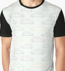 Classic Retro Cars Graphic T-Shirt