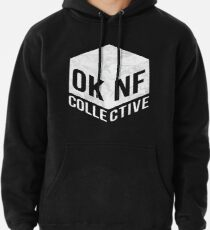 OKNF (White Marble) Pullover Hoodie