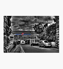Swan Hunter Shipyard Photographic Print