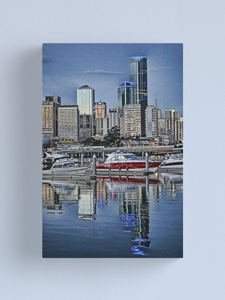 Alternate view of Melbourne Series - River Reflections Canvas Print