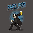 Gary King vs The World's End - Blue by byway