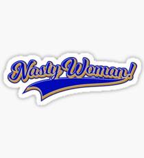 Nasty Women Vote Nasty Woman Feminist Sticker