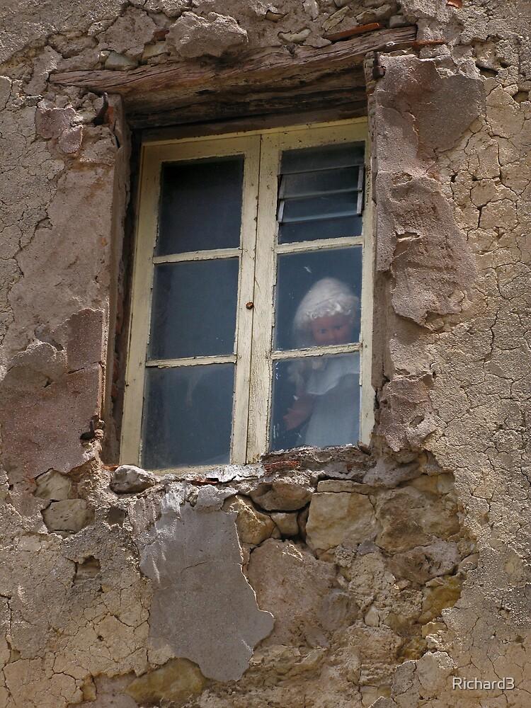Doll in window by Richard3