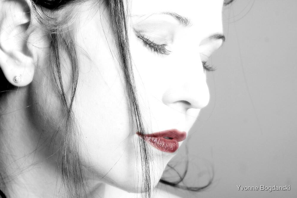 Red Lips by Yvonne Bogdanski