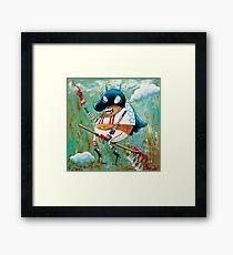 Captain Rakeman Framed Print