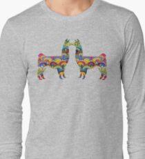 LLAMAS. READY FOR THE ALPACALYPSE Long Sleeve T-Shirt
