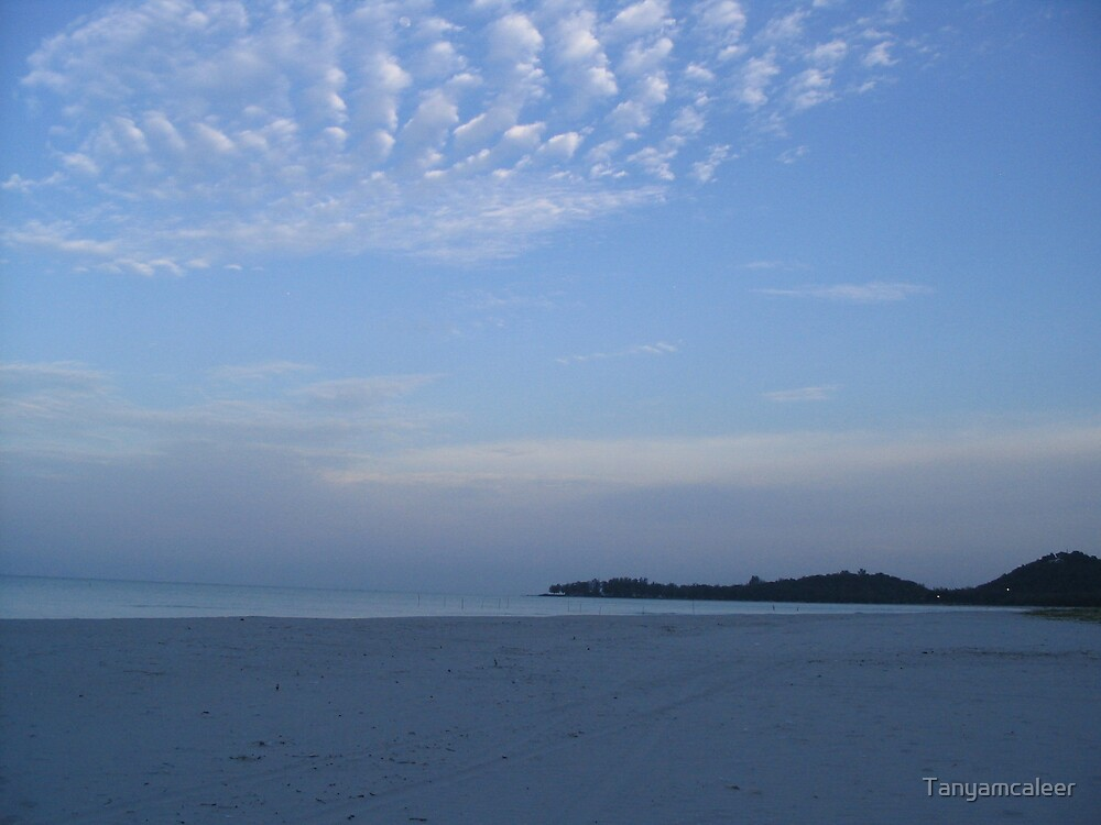 Songla Beach, Thailand  by Tanyamcaleer