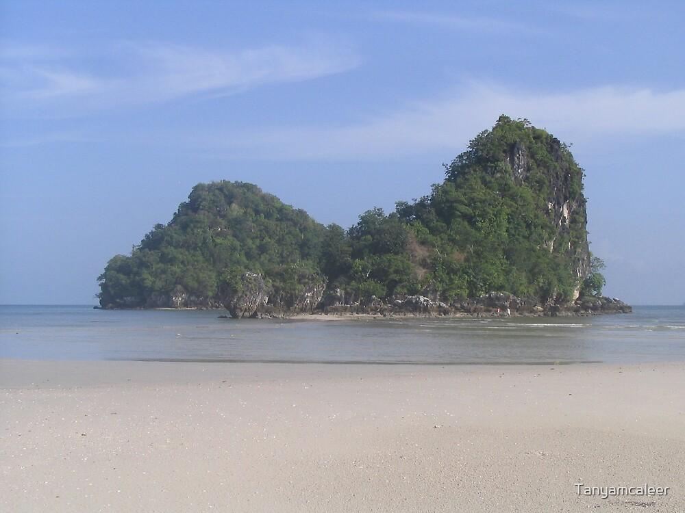Krabi Beach, Thailand by Tanyamcaleer