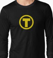 Teen Titans Terra Symbol Long Sleeve T-Shirt