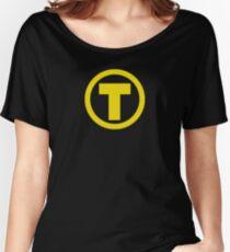 Teen Titans Terra Symbol Women's Relaxed Fit T-Shirt