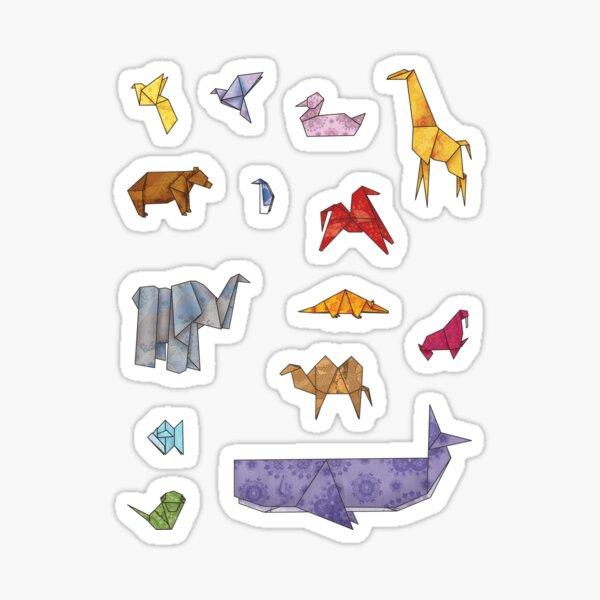 Origamizoo Sticker
