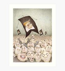 The Triumph of Darkness  Art Print