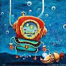Deep sea diver by Neil Elliott