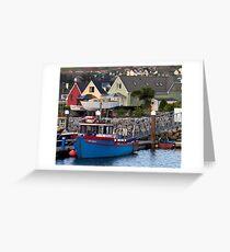 Dingle Harbor, Dingle, Ireland Greeting Card