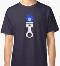 Flaming Piston (nitrous white) Classic T-Shirt