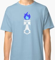 Flaming Piston (nitrous white) Classic T-Shirt