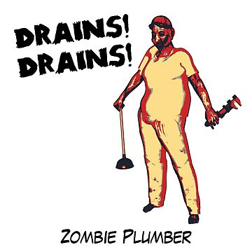 Zombie Plumber - borderless by cartoon