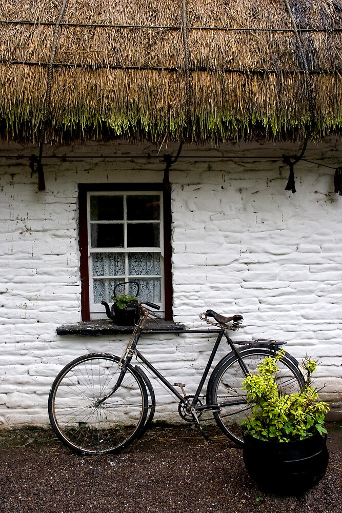 Quot Old Bicycle At Bunratty Folk Park Ireland Quot By