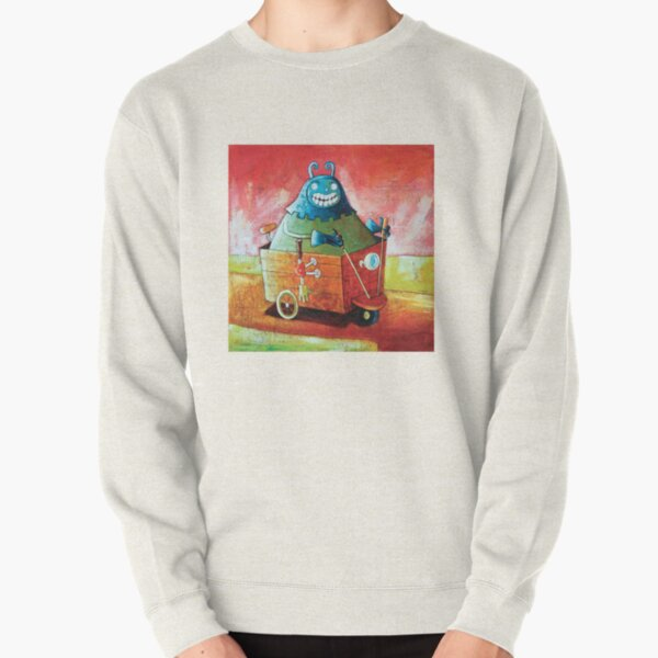 On the road to Bedford Pullover Sweatshirt