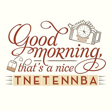 Tnetennba in the Morning by mustbethursday