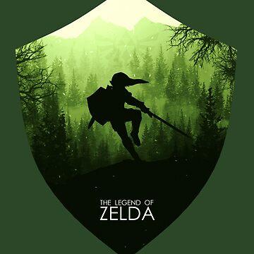 The Legend of Zelda by sephcornel