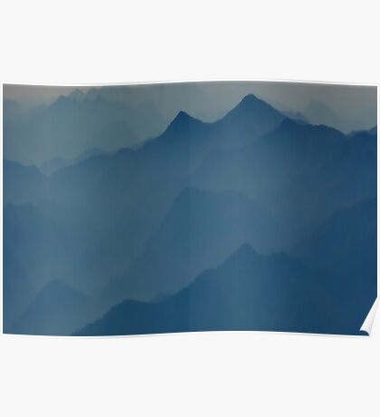 Mystical Mountains  Poster