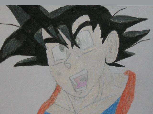 Goku by supasaya