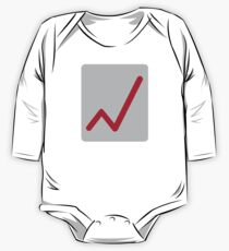 Chart statistics icon Kids Clothes