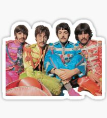 Beatles Sticker