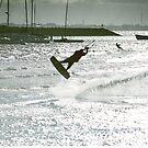Kite surfer by hawkeye