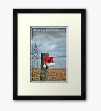 Bush Christmas Framed Print