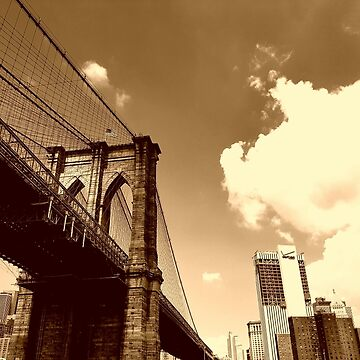 BROOKLYN BRIDGE, NEW YORK by EAKStudio