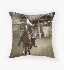 Wild South Throw Pillow