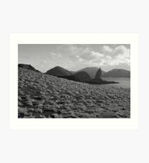 Galapagos Landscape Art Print