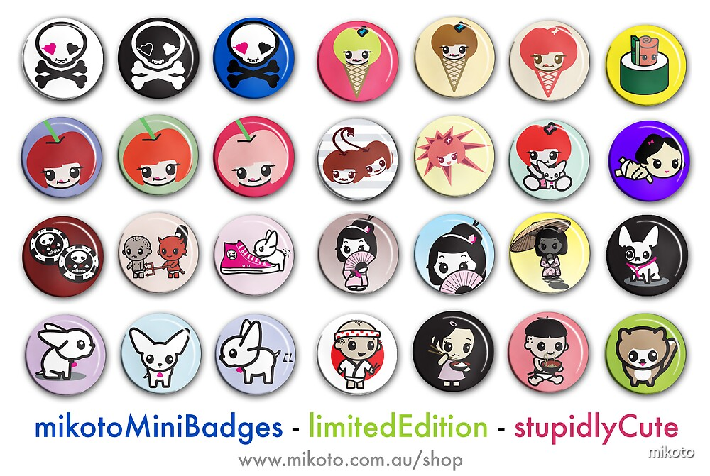 mikotoMiniBadges by mikoto